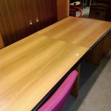 Bureau d'angle avec meuble 2 tiroirs