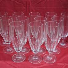 Flutes en cristal