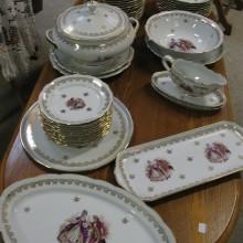 Service marquises porcelaine