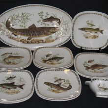 Service à poisson Longchamp